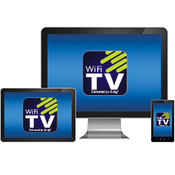 WiFi TV on devices