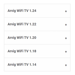 WiFi TV Release Notes Thumbnail